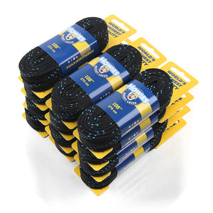 Howies Black Cloth Hockey Skate Laces