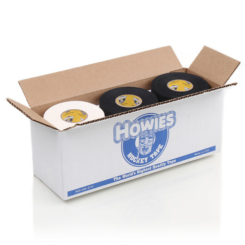 Howies Hockey Tape - 6 White Cloth & 6 Black Cloth -  - Howies Hockey Tape