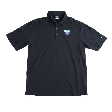 Howies Dri-Fit Golf Polo - Black / Medium - Howies Hockey Tape