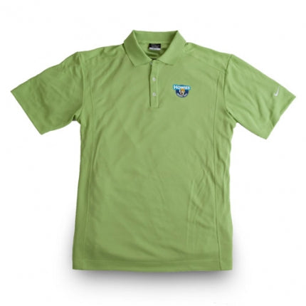 Howies Dri-Fit Golf Polo - Vivid Green / Medium - Howies Hockey Tape