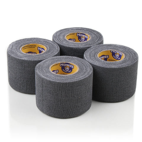 Howies Grey Pro Grip Hockey Tape - 4pk - Howies Hockey Tape