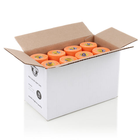 Howies Orange Pro Grip Hockey Tape - Bulk 32pk - Howies Hockey Tape