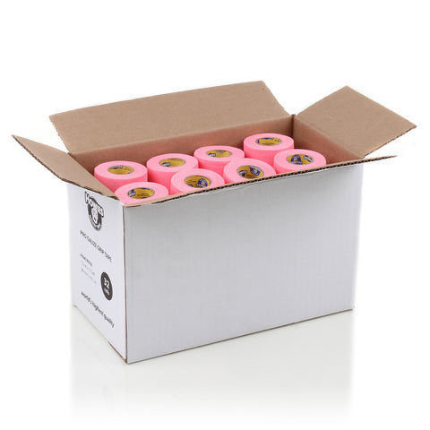 Howies Pink Pro Grip Hockey Tape - Bulk 32pk - Howies Hockey Tape