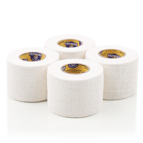 Howies White Pro Grip Hockey Tape - 4pk - Howies Hockey Tape