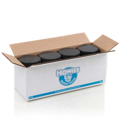 Howies Official 6oz. Black Hockey Pucks