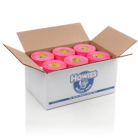 Howies Pink Shin Pad Hockey Tape - Bulk 30pk - Howies Hockey Tape