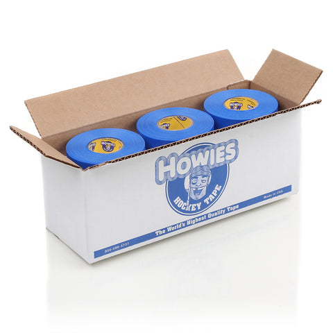 Howies Blue Shin Pad Hockey Tape - Bulk 12pk - Howies Hockey Tape