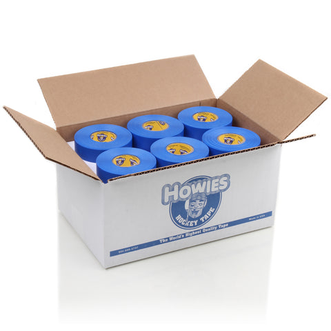 Howies Blue Shin Pad Hockey Tape - Bulk 32pk - Howies Hockey Tape
