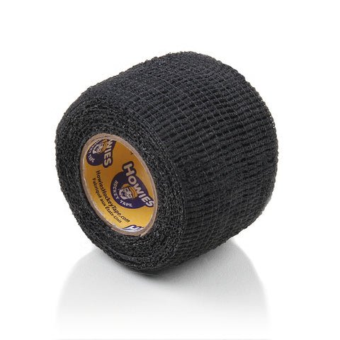 Howies Black Stretchy Grip Hockey Tape - 1pk - Howies Hockey Tape