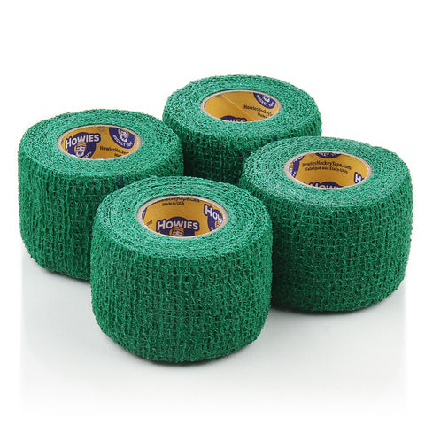 Howies Green Stretchy Grip Hockey Tape - 4pk - Howies Hockey Tape