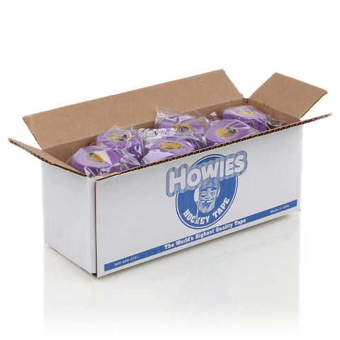 Howies Purple Stretchy Grip Hockey Tape - Bulk 12pk - Howies Hockey Tape
