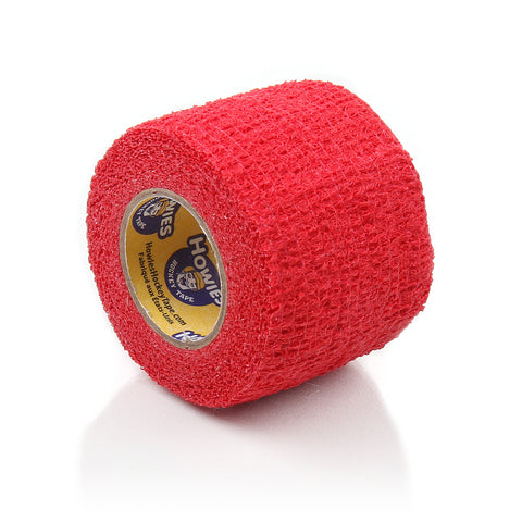 Howies Red Stretchy Grip Hockey Tape - 1pk - Howies Hockey Tape
