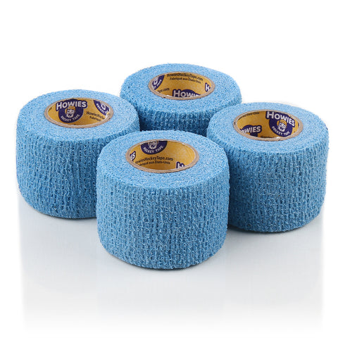 Howies Sky Blue Stretch Grip Hockey Tape - 4pk - Howies Hockey Tape