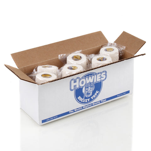 Howies White Stretchy Grip Hockey Tape - Bulk 12pk - Howies Hockey Tape