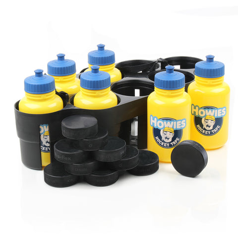 Howies Coach's Pack -  Water Bottles, Pucks, & Carrier -  - Howies Hockey Tape