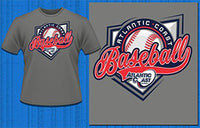 Atlantic Coast Baseball T-Shirt - Atlantic Coast Sports