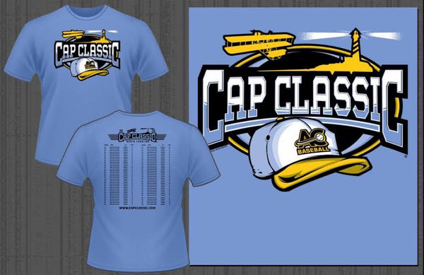 Cap Classic® NORTH CAROLINA Tournament T-Shirt