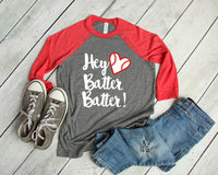 """Hey Batter Batter"" Tee - Atlantic Coast Sports"