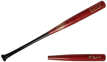 Louisville Slugger Hard Maple Youth Wine/Black 29'