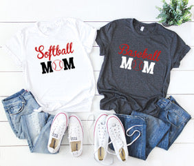Baseball/Softball Mom Tee - Atlantic Coast Sports