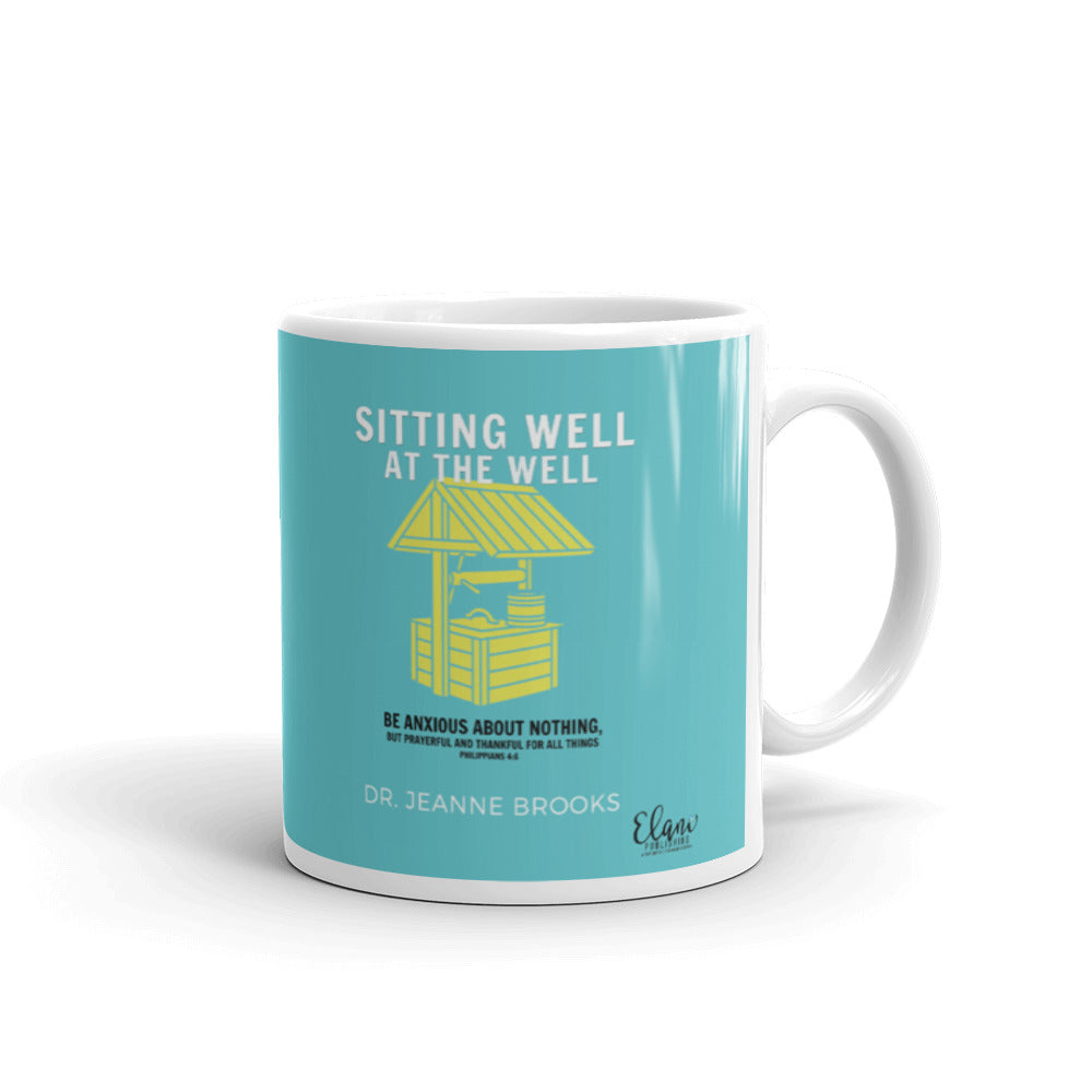 Sitting Well at the Well Mug