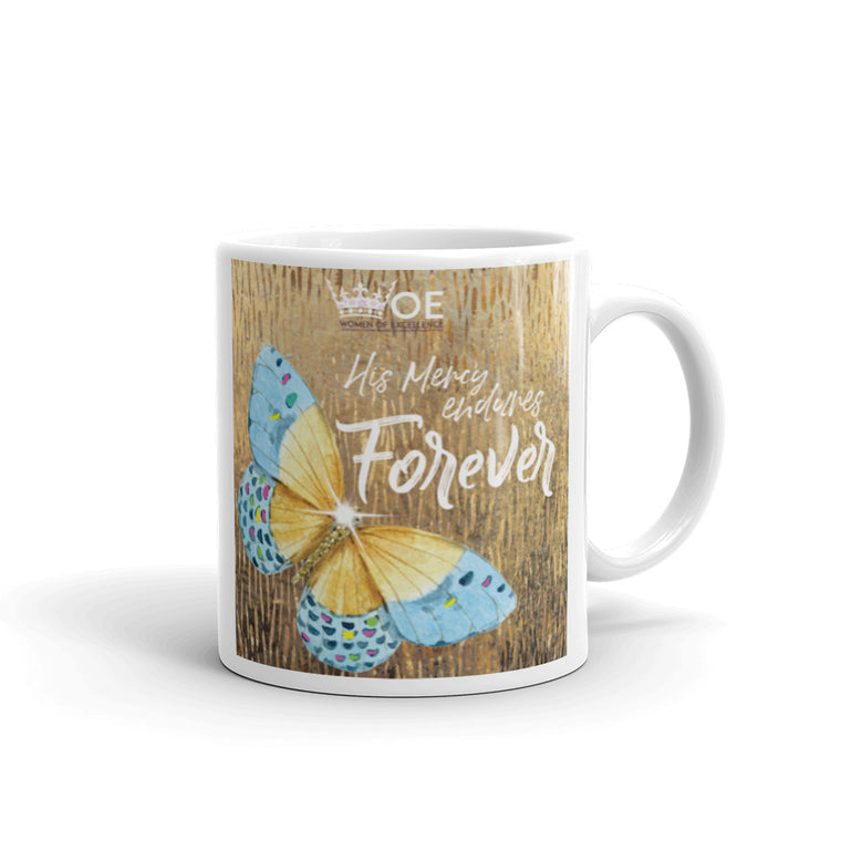 WOE™ His Mercy endures Forever Mug
