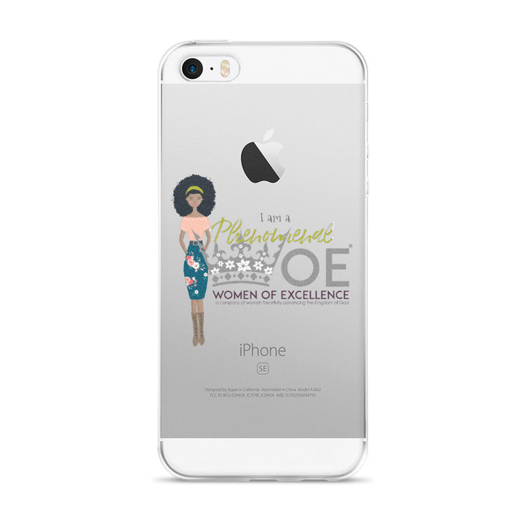 Phenomenal WOE™ Woman iPhone 5/5s/Se, 6/6s, 6/6s Plus Case