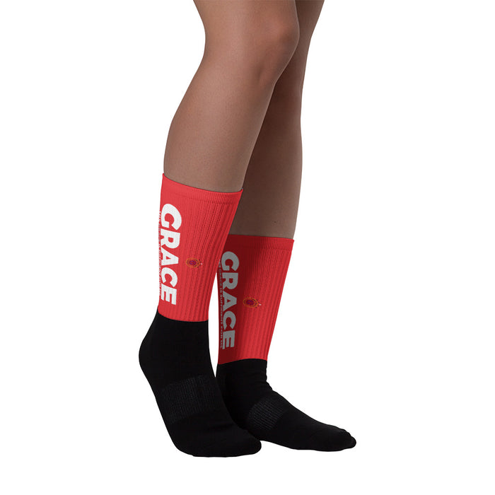 Grace, Gold & Glory™ Red Grace Collection Socks