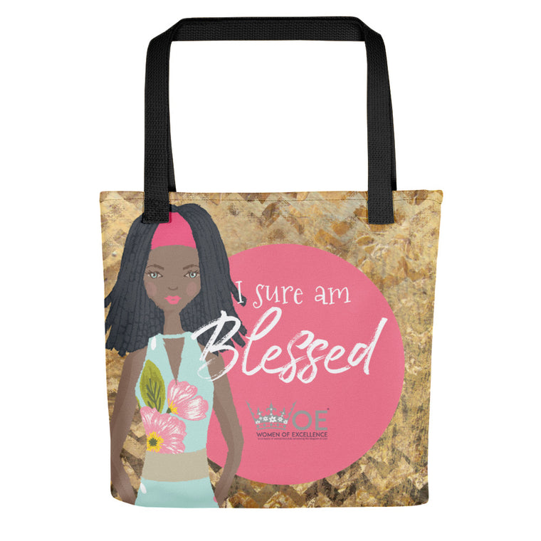 WOE™ I Sure am Blessed Tote bag