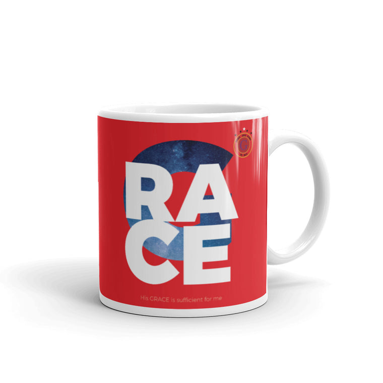 Grace, Gold & Glory™ Red Grace Collection Mug. Made in the USA