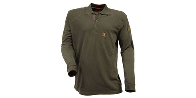Percussion Long Sleeve Polo Shirt