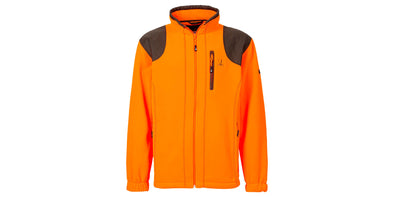 Percussion Orange Fleece Hunting Jacket - 1562