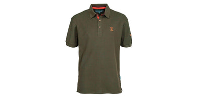Percussion Embroidered Polo Shirt