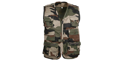 Percussion Child's Reporter Vest - Camo