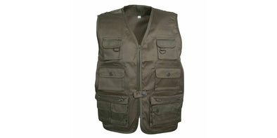 Percussion Kids Reporter Vest - Green