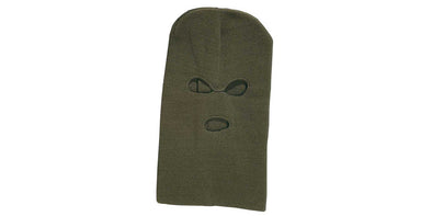 Percussion Balaclava - Green