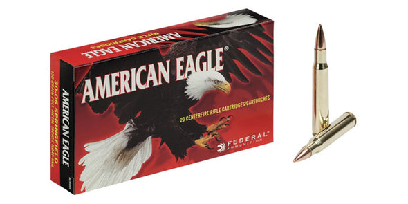 American Eagle 30-06sprg 150gr FMJ Boat Tail