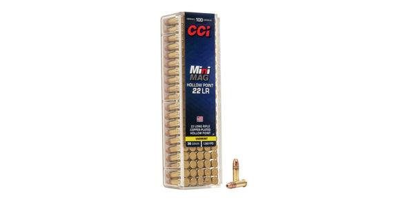 CCI Mini Mag 22lr 36gr Hollow Point