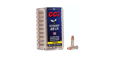 CCI Stinger 22lr 32gr Hollow Point
