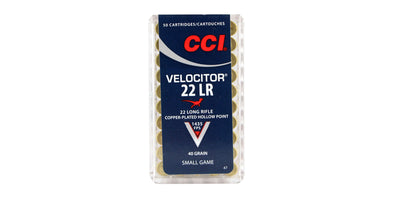 CCI Velocitor 22lr 40gr Hollow Point
