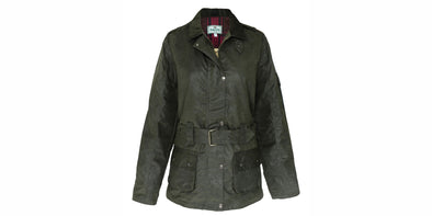 Hoggs of Fife Cheltenham Ladies Waxed Jacket