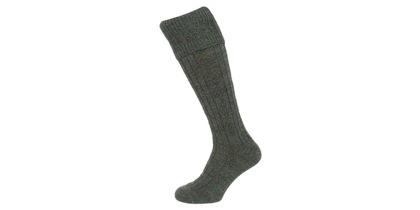Hoggs of Fife Cable Knit Stockings