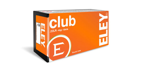 Eley Club 22lr 40gr Round Nose