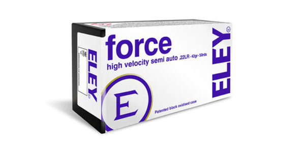 Eley Force 22lr 42gr Round Nose