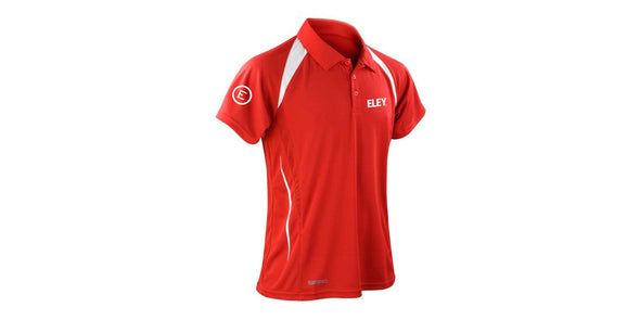 Eley Tech Men's Red Polo Shirt