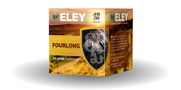 Eley 410g Fourlong 12.5gr Game Cartridges