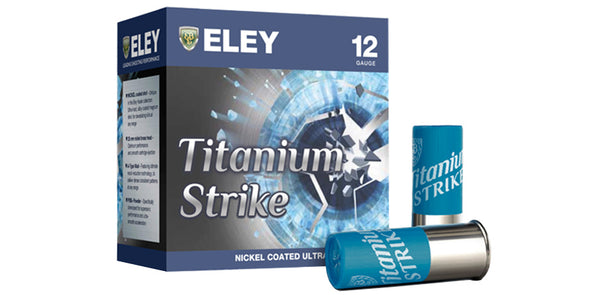 Eley Titanium Strike 28gr Trap Cartridges