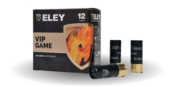 Eley VIP Game 30gr, 32gr & 36gr Game Cartridges