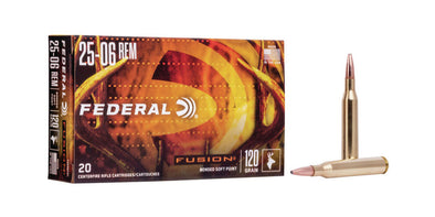 Federal Fusion 25-06rem 120gr Soft Point