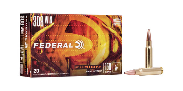 Federal Fusion 308win 150gr Soft Point